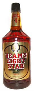 Beam's Eight Star Whiskey 1.00l - Case of 12